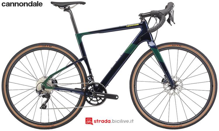La bici Cannondale Topstone Carbon Ultegra RX 2020