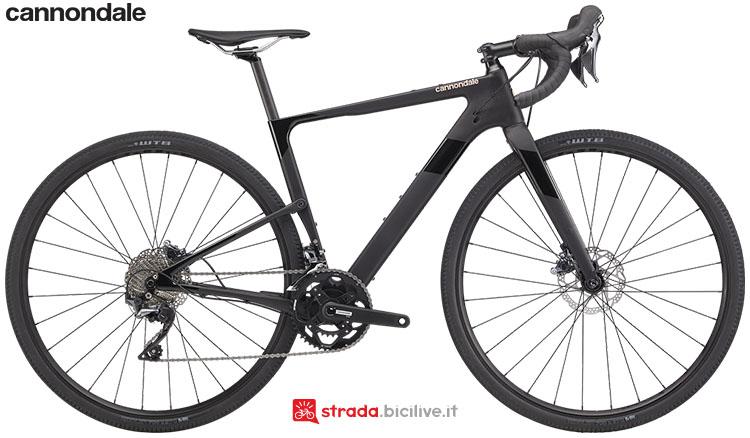 La bici Cannondale Topstone Carbon Women's Ultegra RX 2 2020