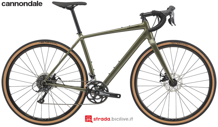 La bici Cannondale Topstone Sora 2020