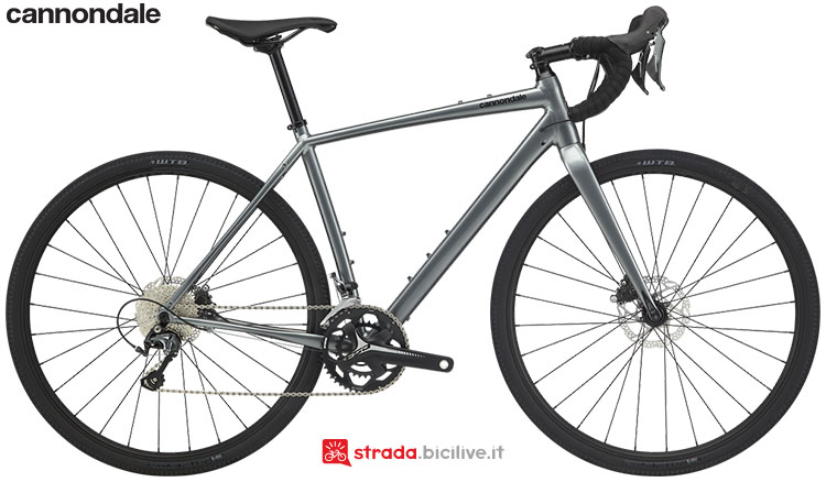 La bici Cannondale Topstone Tiagra 2020