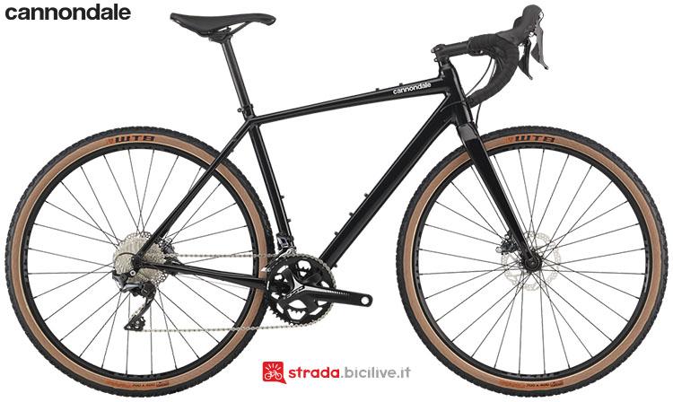La bici Cannondale Topstone Ultegra 2020