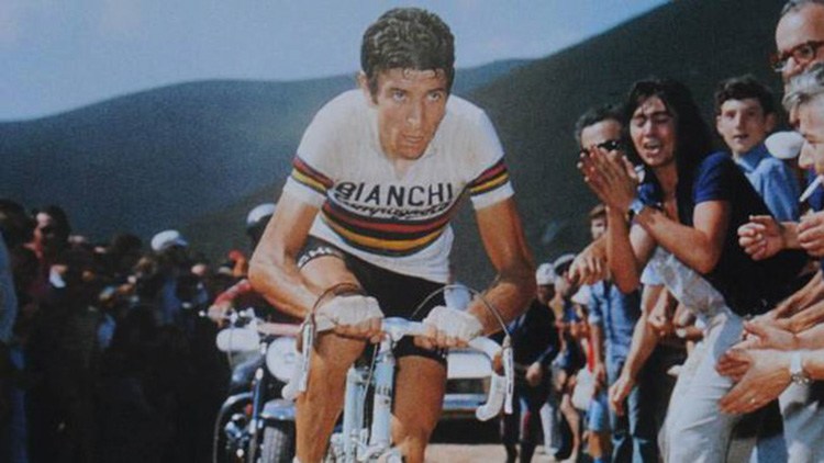 Felice Gimondi passaggio alla Bianchi-Campagnolo nel 1973