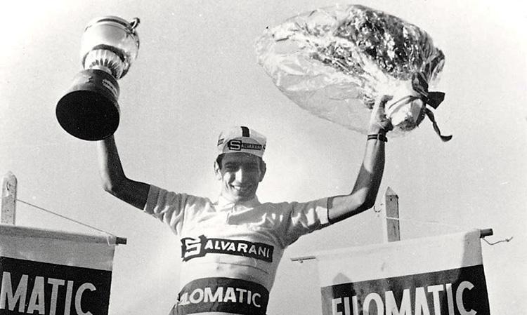 Felice Gimandi vince una tappa, la cronometro San Sebastián - Tolosa e la Maglia Roja nel 1968