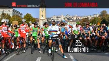 Il Giro di Lombardia edizione 2019