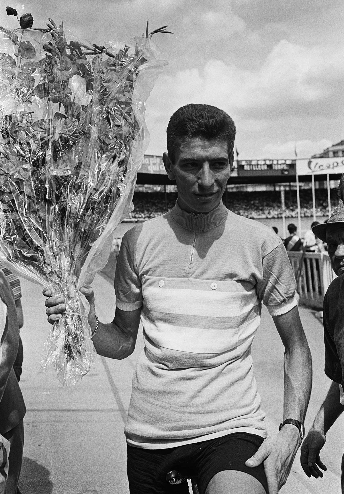 Rivelazione di Felice Gimondi al Tour de l'Avenir del 1964 prima vittoria a 18 anni