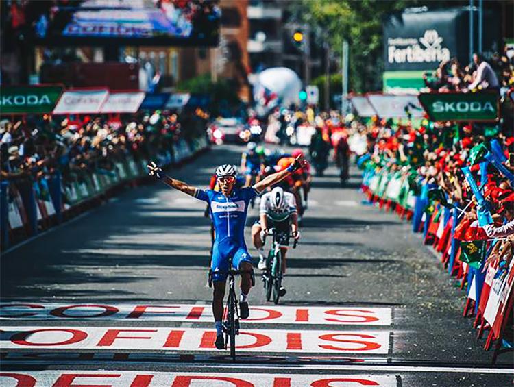 Philippe Gilbert vince la tappa 17 della Vuelta 2019