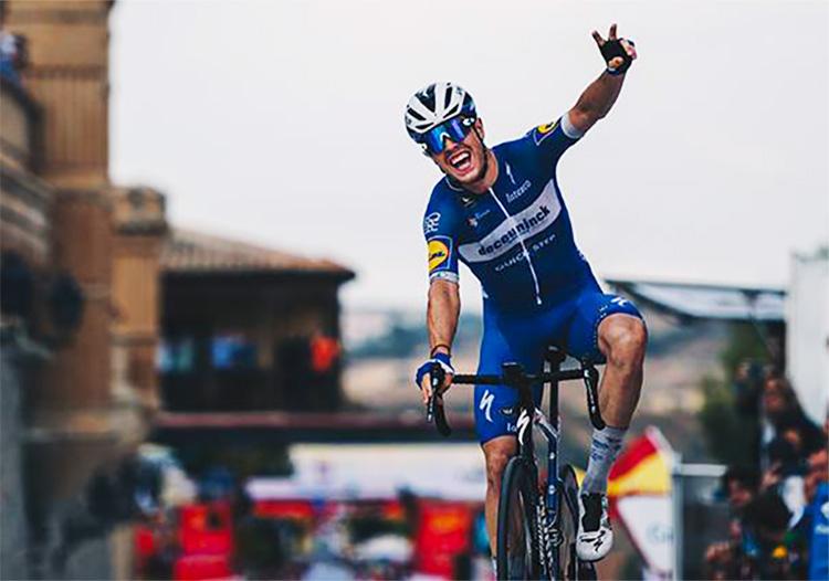 Remi Cavagna vince la tappa 19 della Vuelta 2019