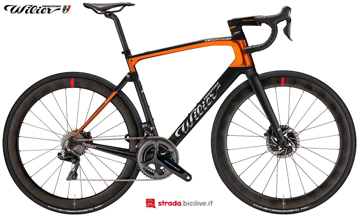 La bici Wilier Triestina Cento10NDR 2020