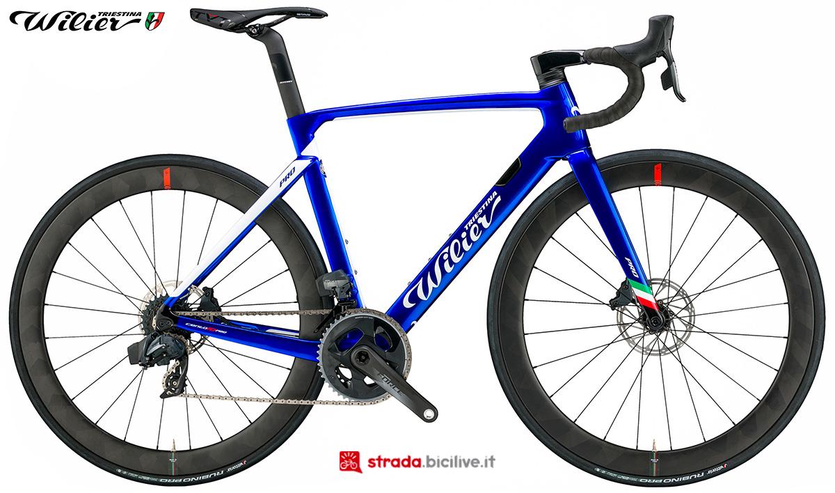 La bici Wilier Triestina Cento10PRO 2020