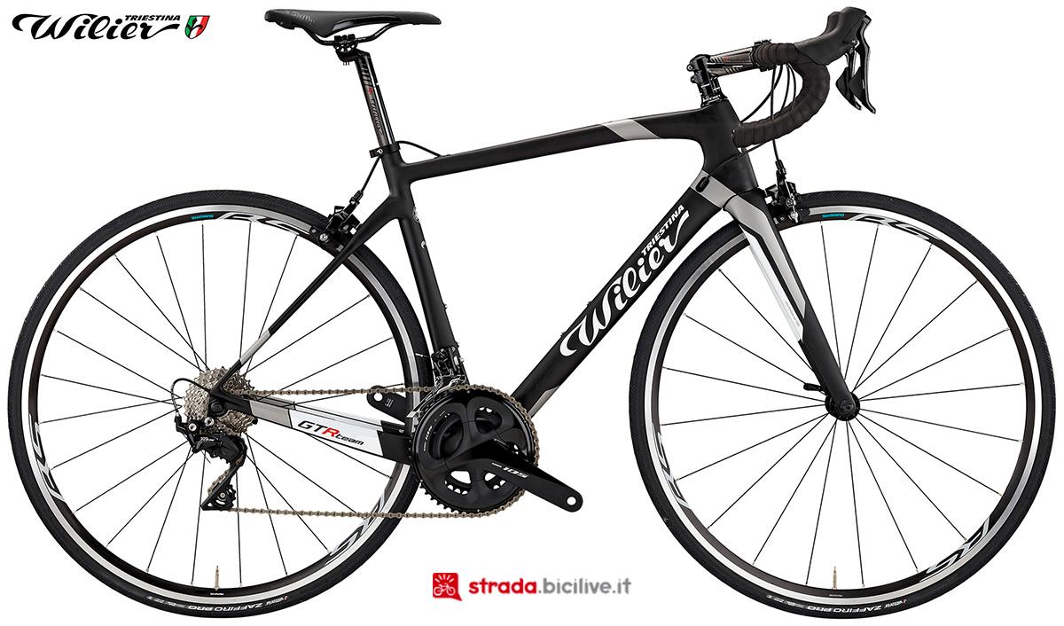 La bici Wilier Triestina GTR Team 2020