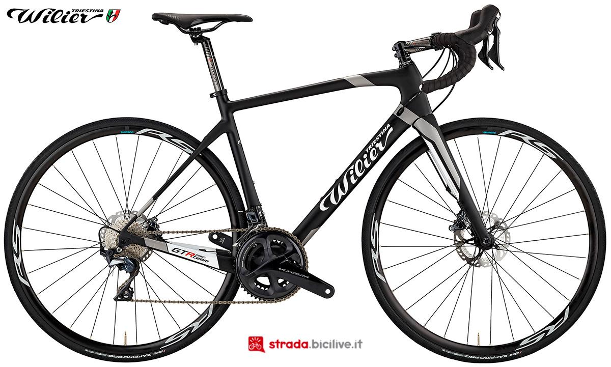 La bici Wilier Triestina GTR Team DISC 2020
