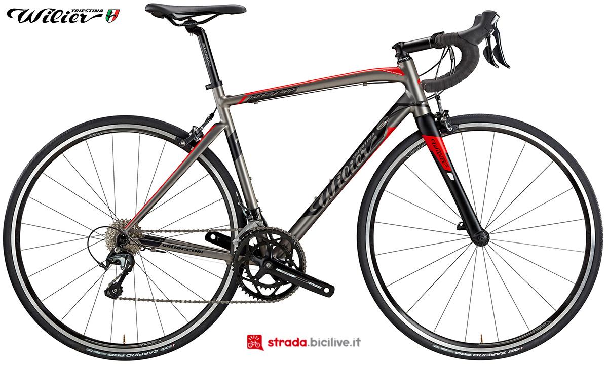 La bici Wilier Triestina Montegrappa 2020