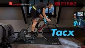 Tacx Neo 2T e Flux 2: due nuovi rulli smart da allenamento