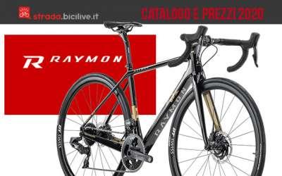 Le bici da strada e gravel 2020 di R Raymon: catalogo e listino prezzi