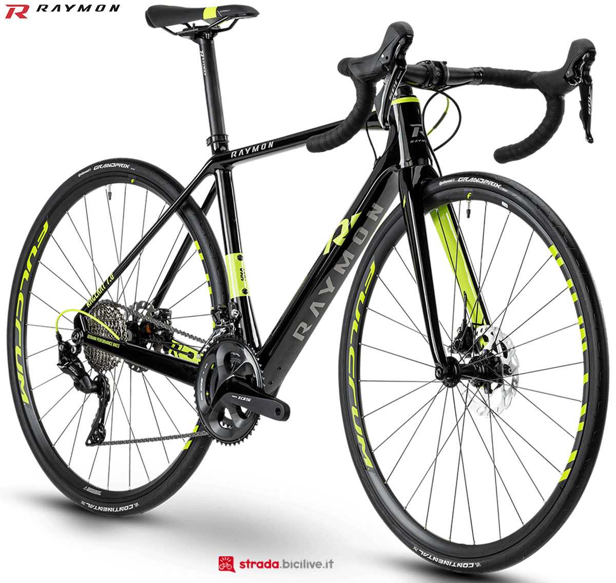 La bici R Raymon RACERAY 7.0 2020