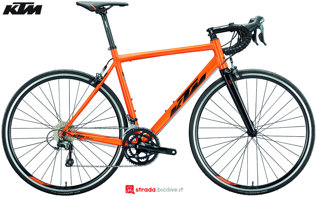 La bici KTM Strada 1000 2020
