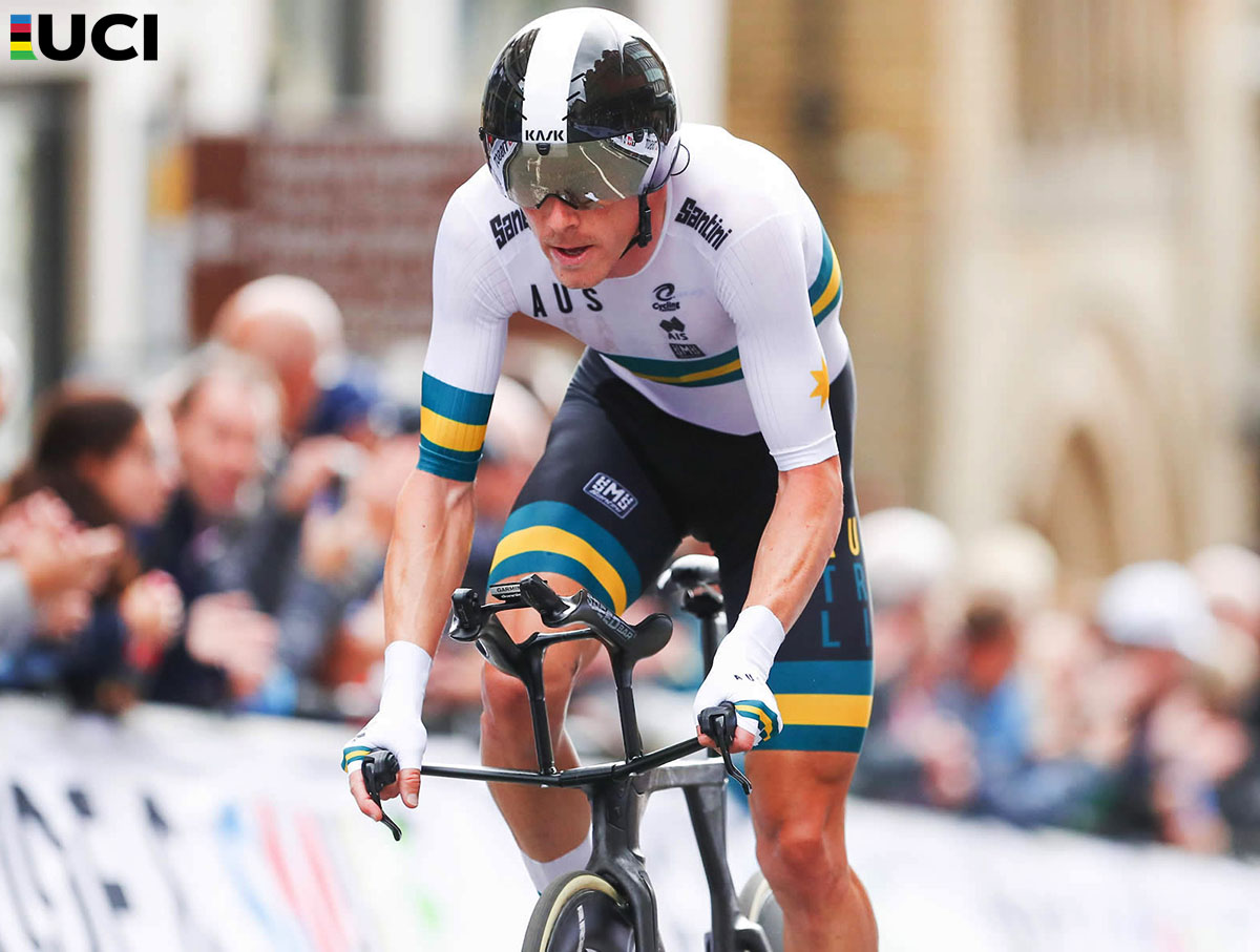 Rohan Dennis vincitore della Cronometro Elite ai Mondiali 2019