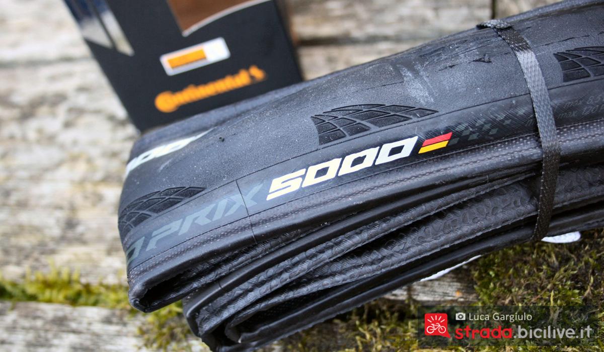 Lo pneumatico di alta gamma Continental GP 5000