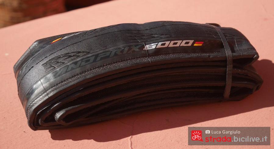 Pneumatici Continental Grand Prix 5000 ripiegati