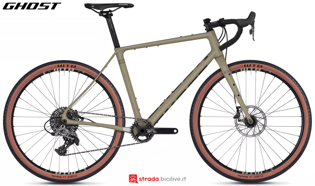 Una bici Ghost Endless Road Rage 8.7 LC U 2020