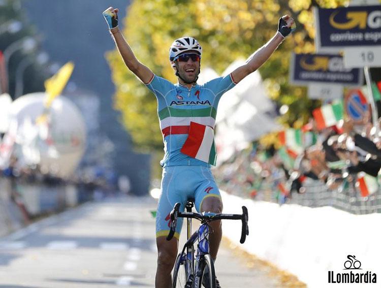 La doppia vittoria di Vincenzo Nibali al Giro di Lombardia nel 2015 e 2017
