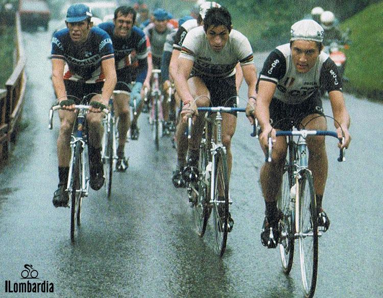 La grande rivalità in gara al Giro di Lombardia tra Moser e Saronni