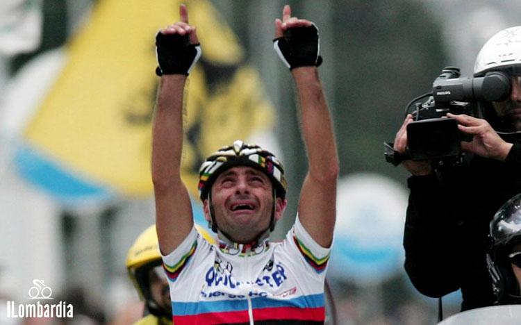 La doppia vittoria di Paolo Bettini al Giro di Lombardia nel 2005 e 2006