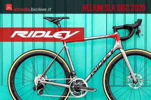 La bici Ridley Helium SLX Disc 2020