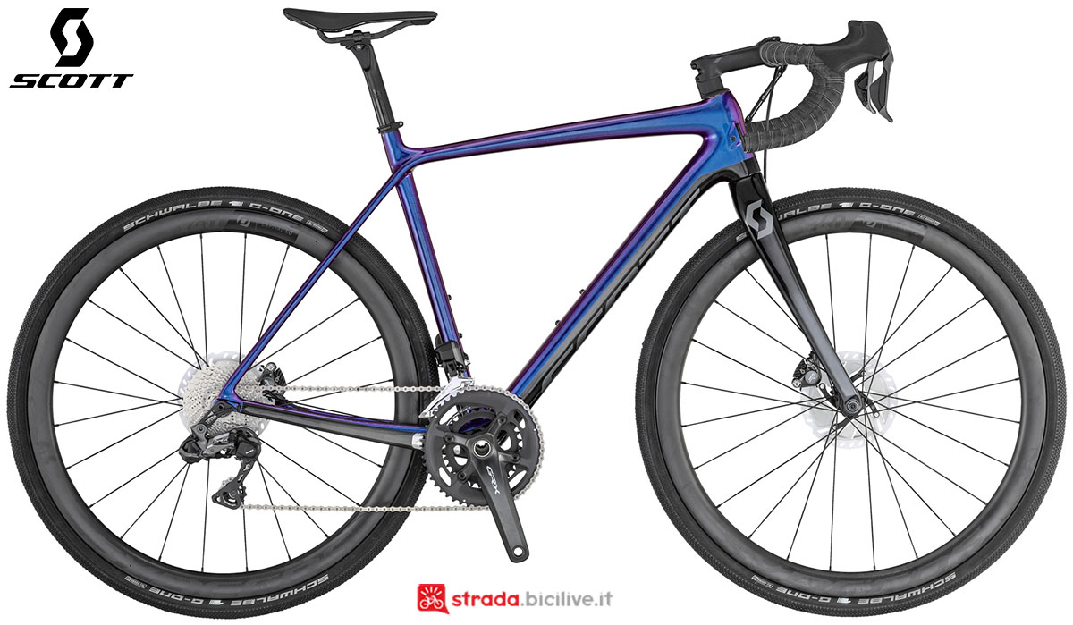 La bici Scott Addict Gravel 10 2020