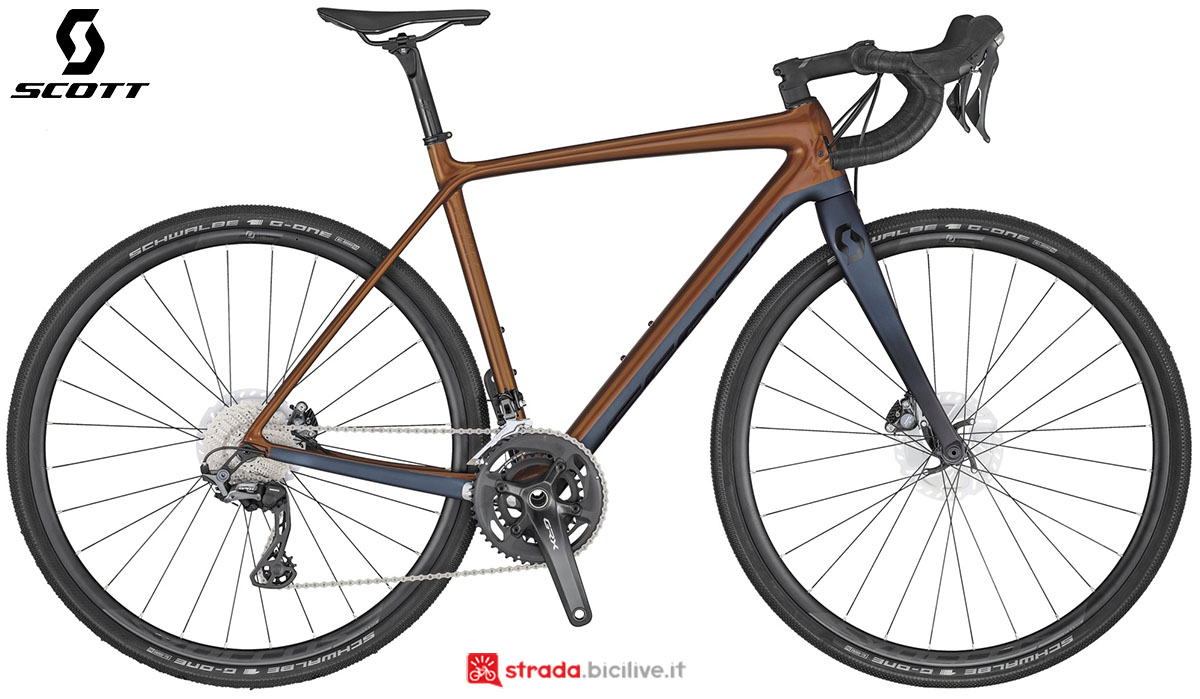 La bici Scott Addict Gravel 20 2020