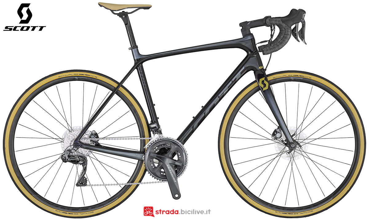 La bici Scott Addict SE Disc 2020