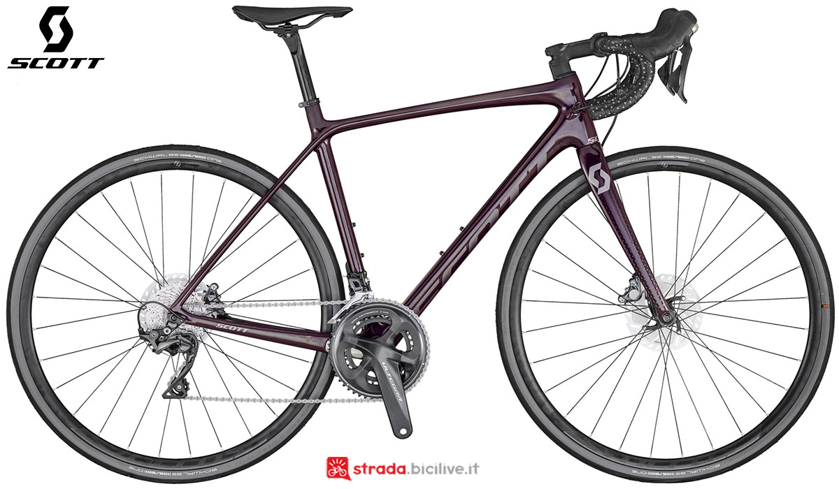 La bici Scott Contessa Addict 15 Disc 2020