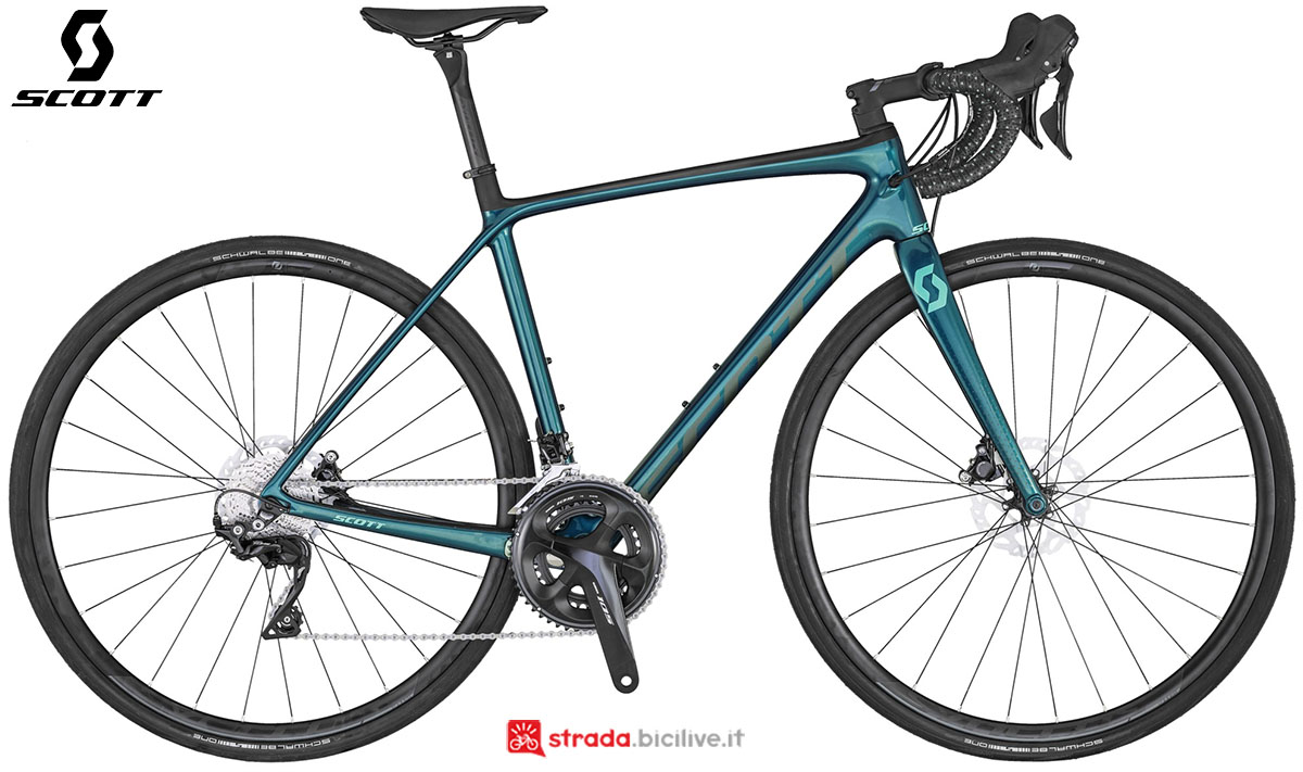 La bici Scott Contessa Addict 25 Disc 2020