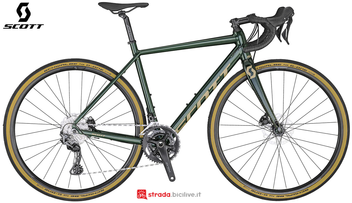 La bici Scott Contessa Speedster Gravel 15 2020