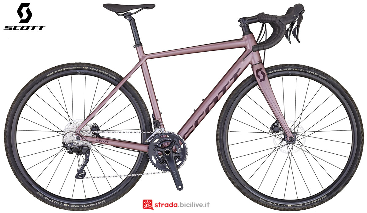La bici Scott Contessa Speedster Gravel 25 2020