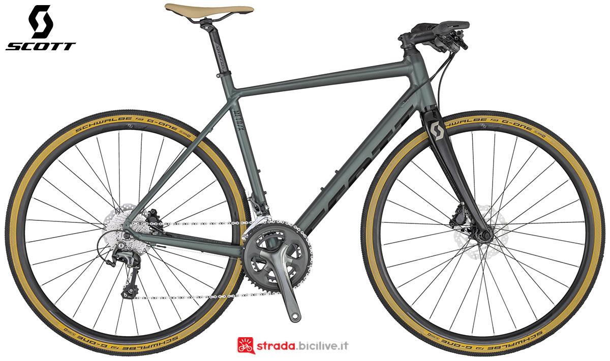 La bici Scott Metrix 20 2020
