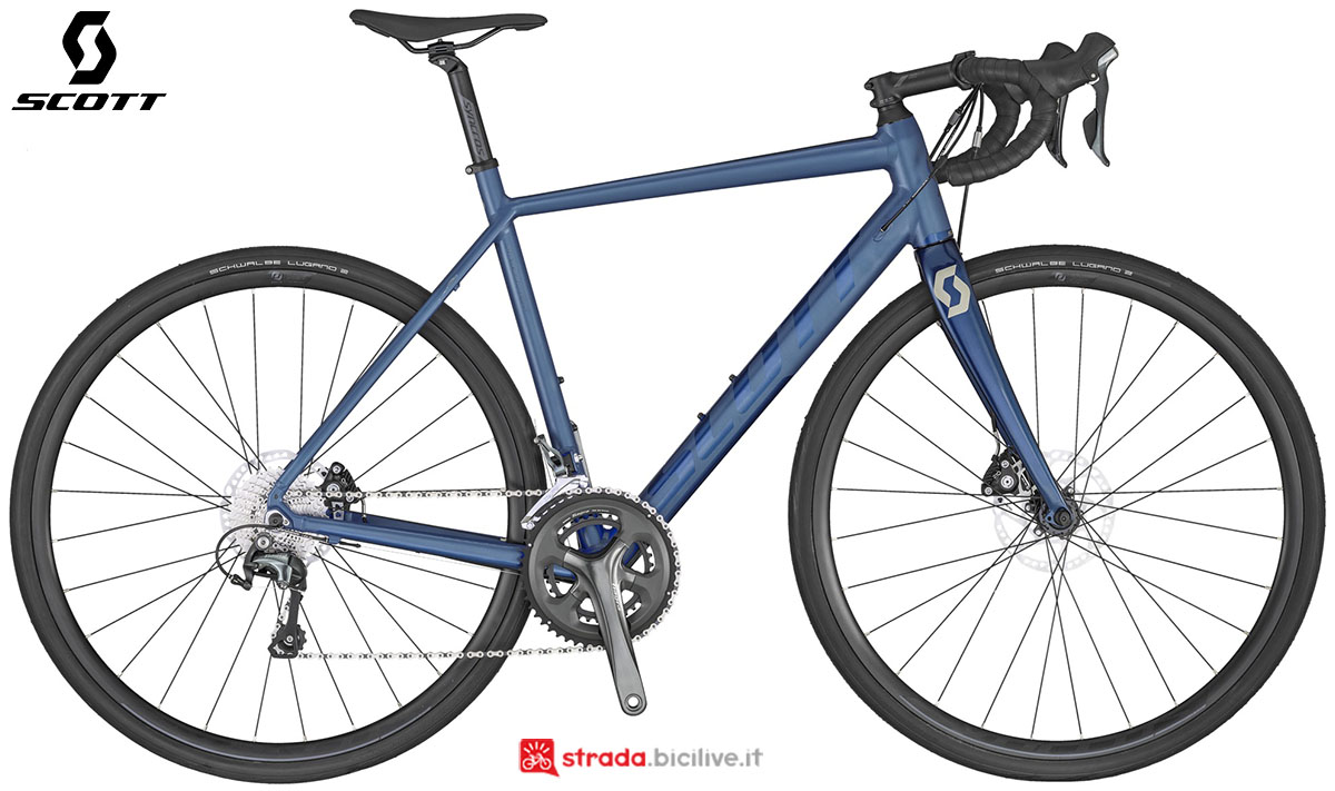 La bici Scott Speedster Gravel 20 disc 2020