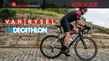 Van Rysel Ultra CF 2020: la nuova bici da corsa di Decathlon