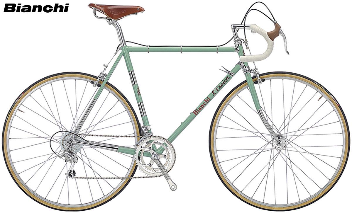 Una bicicletta Bianchi L'Eroica
