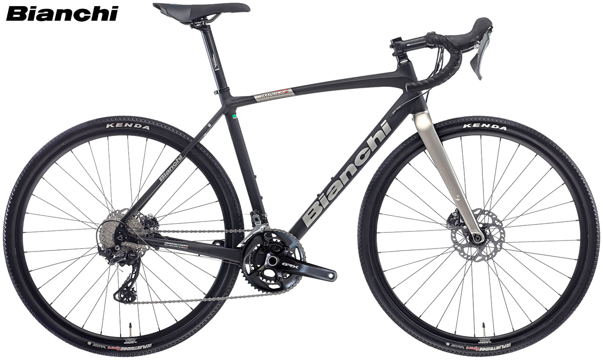 Una bicicletta gravel Bianchi Impulso Allroad 2020