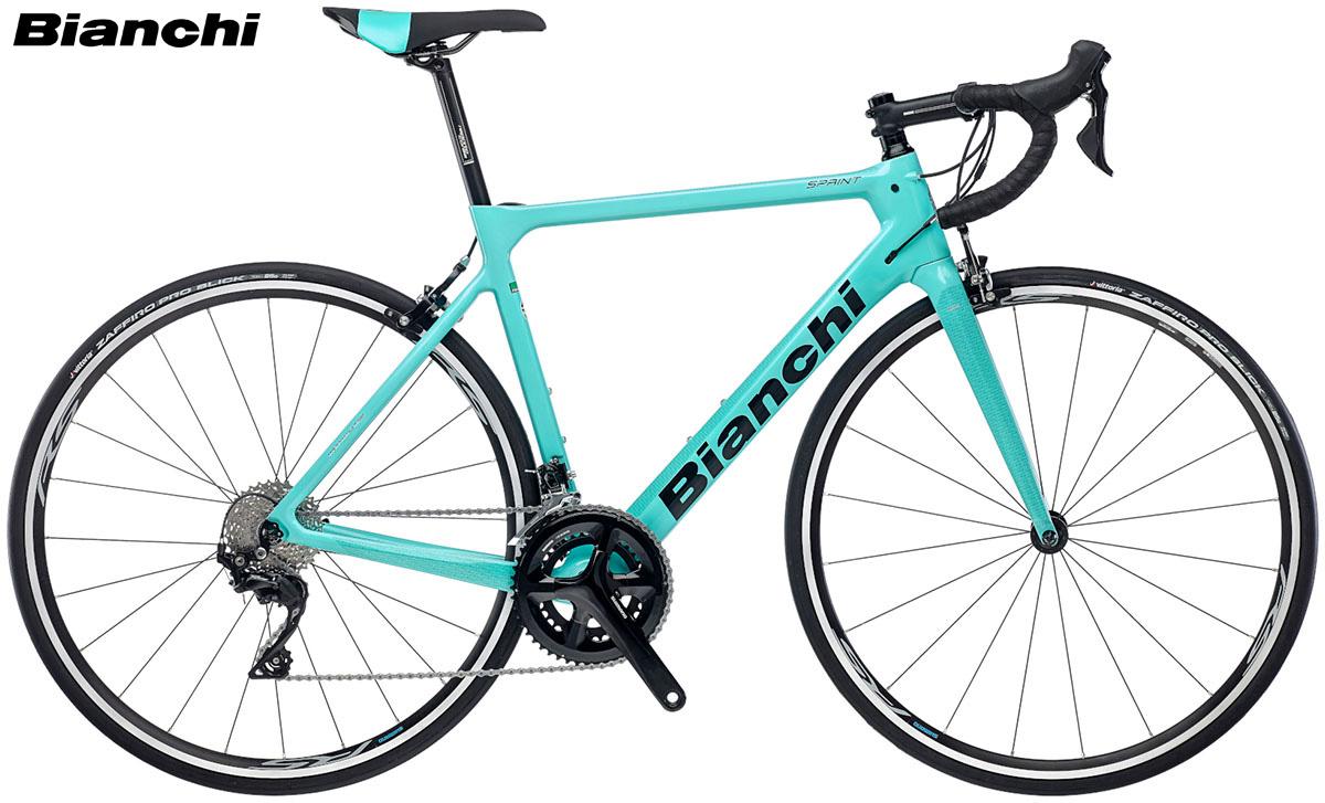 Una bicicletta modello Bianchi Sprint