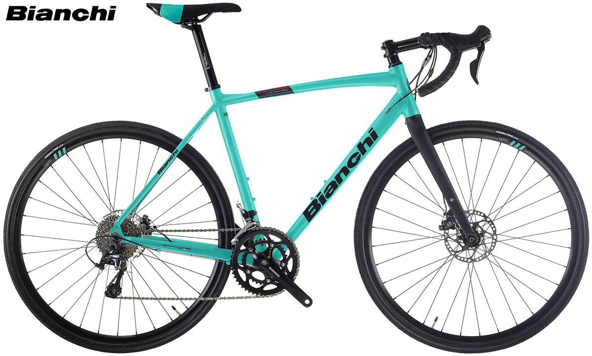 Una bicicletta gravel Bianchi Via Nirone 7 Allroad