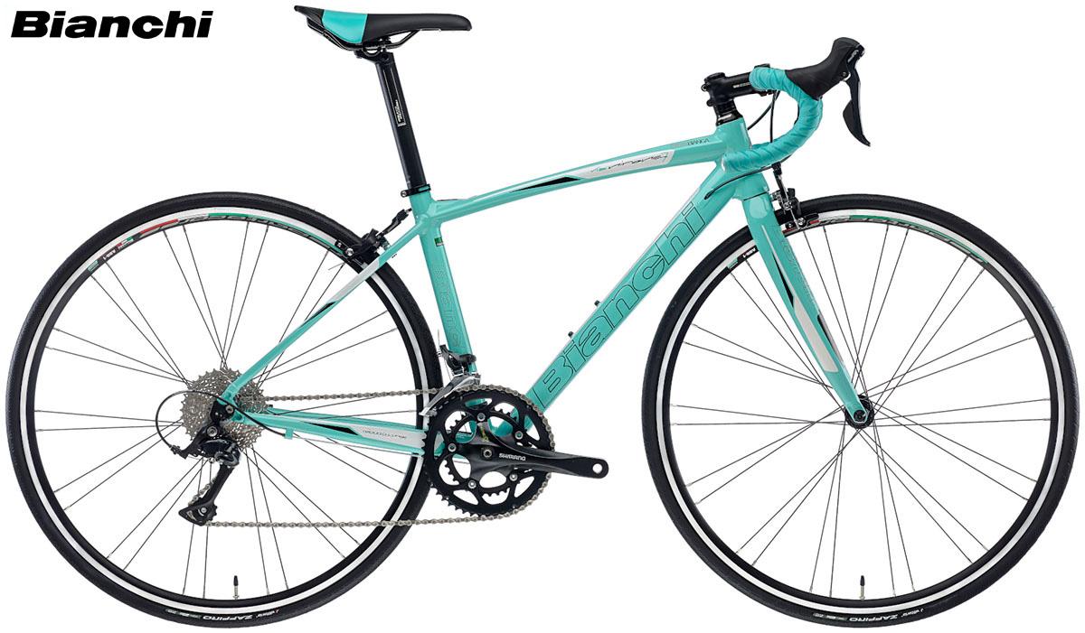 Una bici Bianchi Via Nirone 7 Dama Bianca