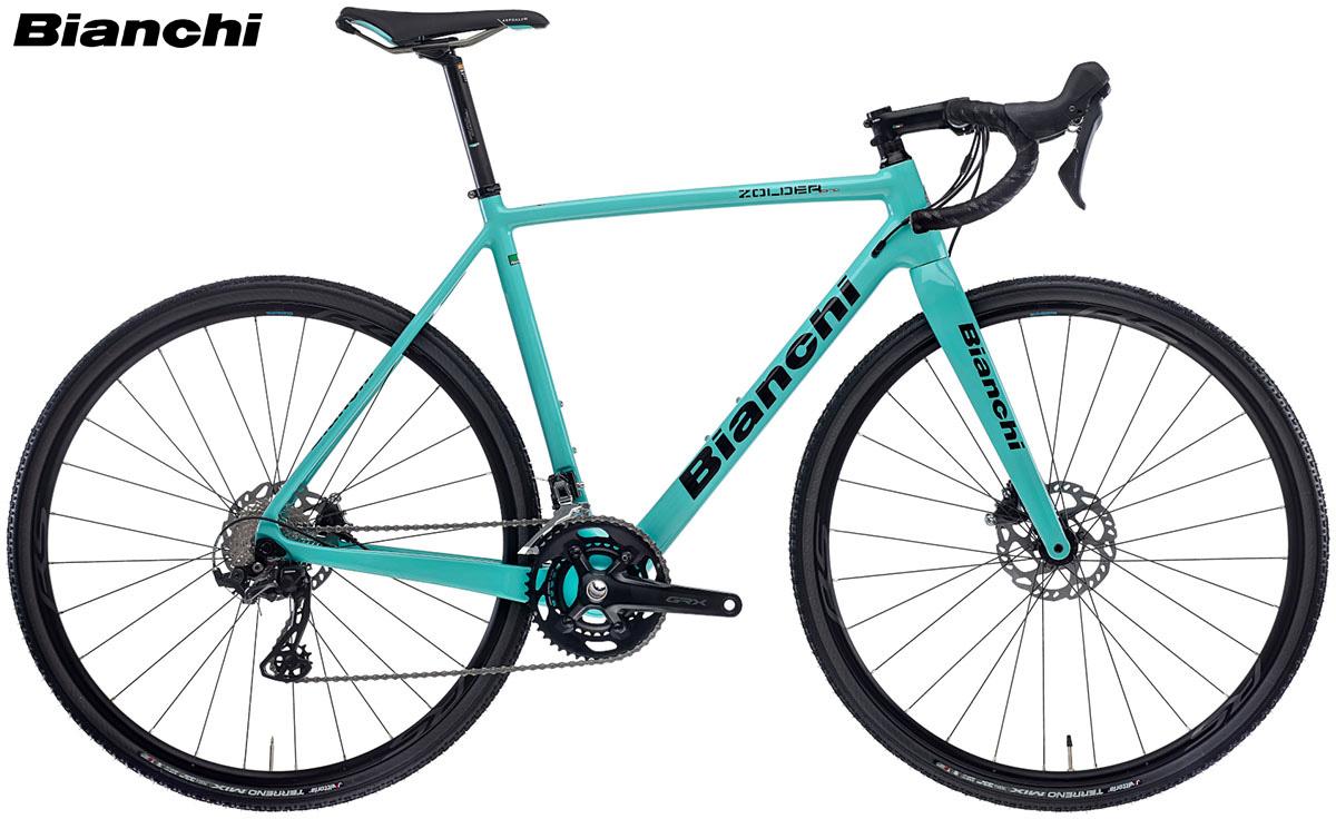 Una bici da ciclocross Bianchi Zolder Pro Disc