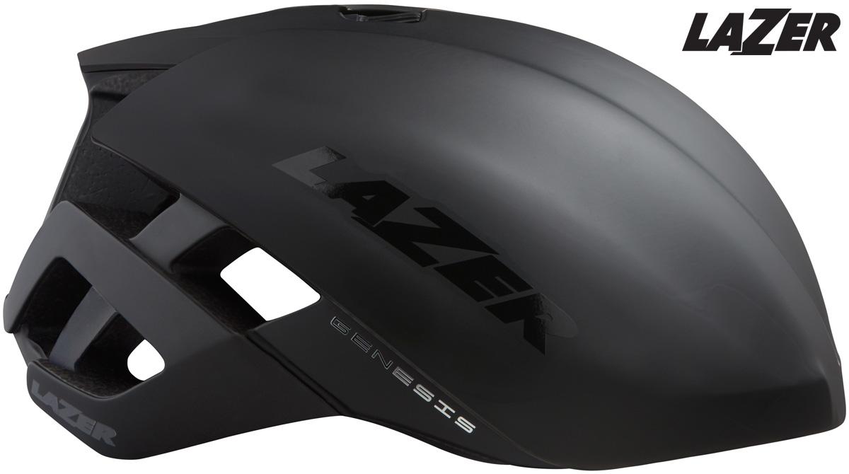 Il casco Lazer Genesis con copertura aerodinamica Aeroshell