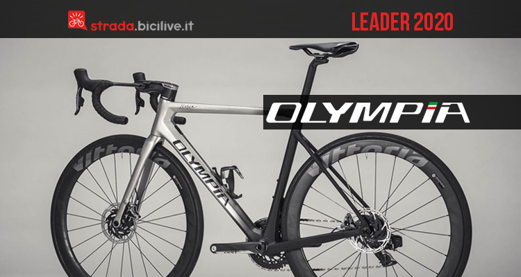 Cicli Olympia Leader 2020: bici da corsa endurance leggera