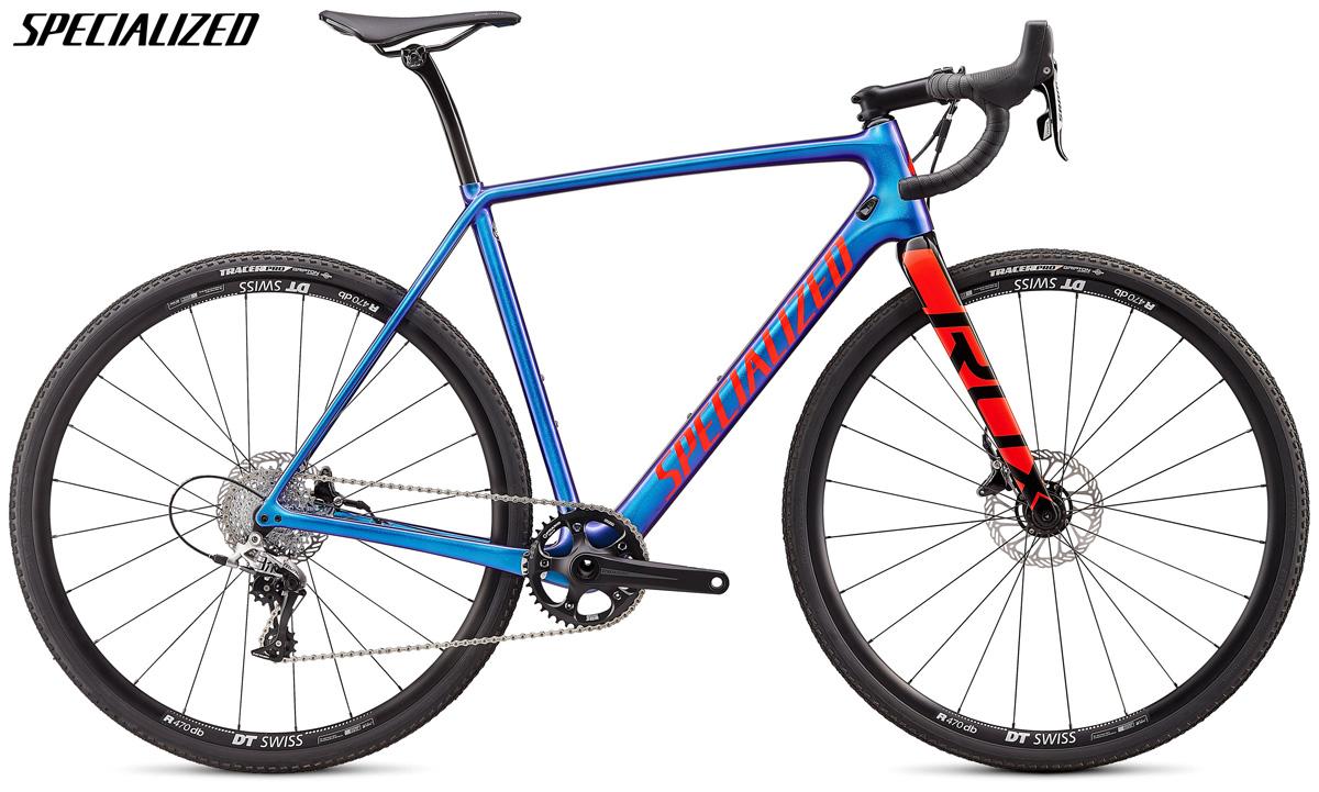 Una bici da ciclo cross Specialized CruX Elite con trasmissione SRAM Rival 1