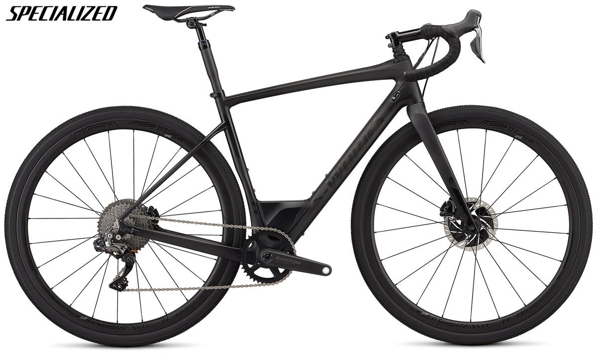 Una bicicletta gravel Specialized S-Works Diverge con trasmissione Shimano Dura-Ace Di2
