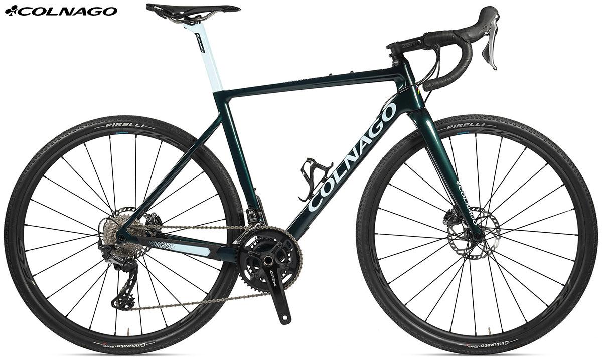 La bici Colnago G3x di colore grigia 2020