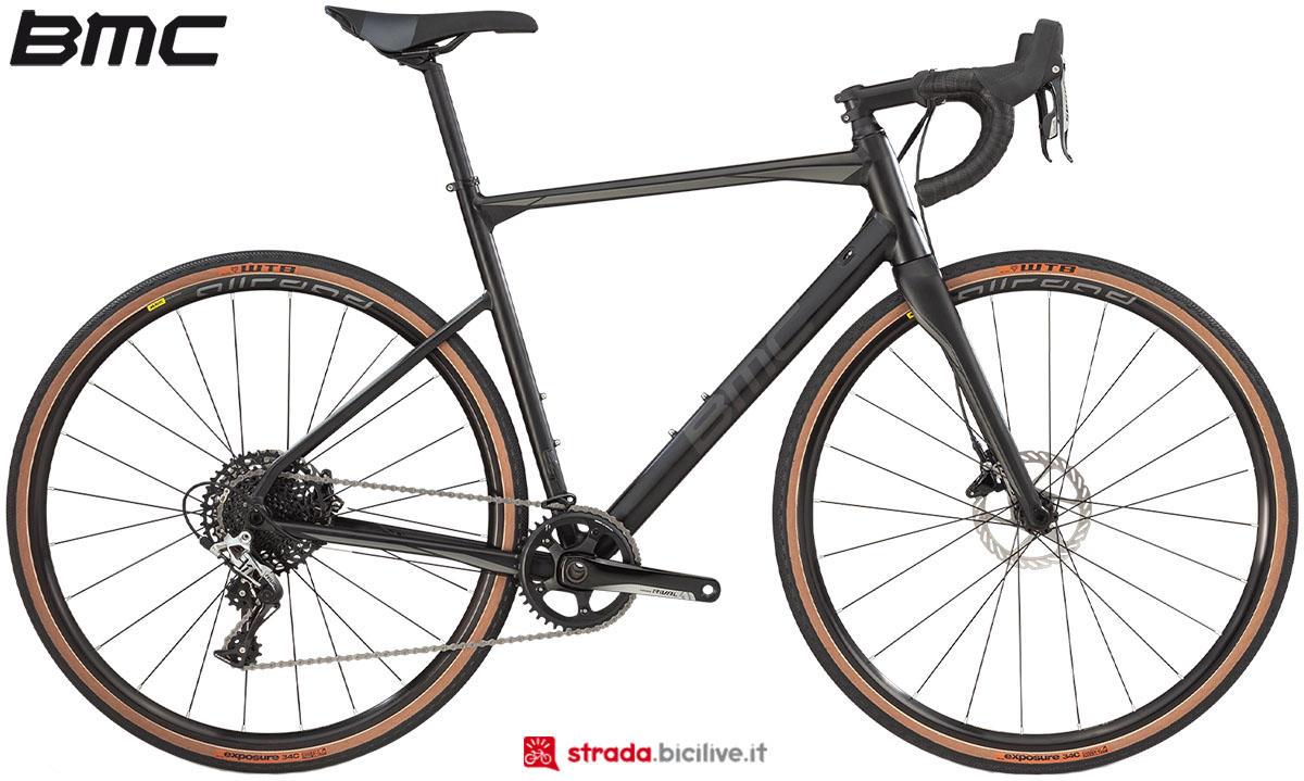 Una bici BMC Roadmachine X 2020